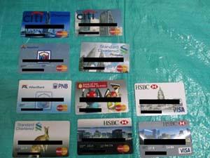 偽造クレジットカード